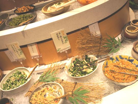 フレスポ稲毛,八葉,ランチブッフェ,和食