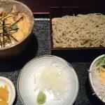 都賀の人気蕎麦店、との山 日本庭園で頂く蕎麦ランチセット