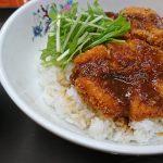 京成みどり台の定食屋さん、味楽 家庭的なデカ盛り店の味噌カツ丼ランチ